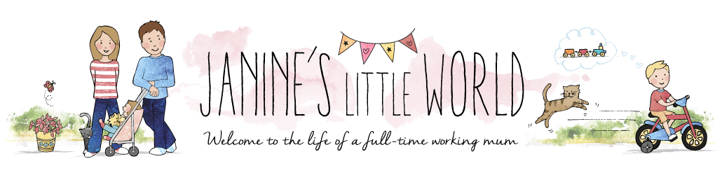 Janine's Little World, Welcome to the life of a full-time working mum.