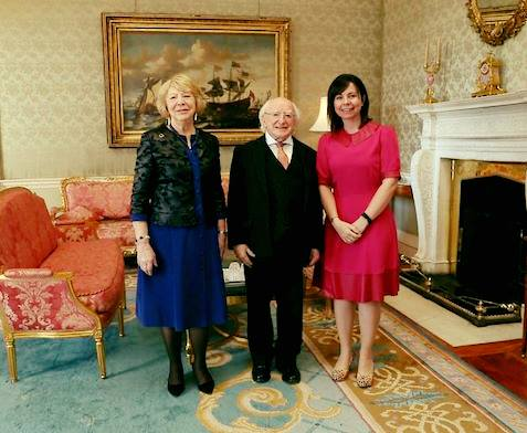 COGNIKIDS meets President of Ireland, President Higgins